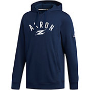 adidas Men's Akron Zips Navy Fleece Hoodie