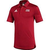 adidas Men's Louisiana-Lafayette Ragin' Cajuns Red Under the Lights Coaches Sideline Polo