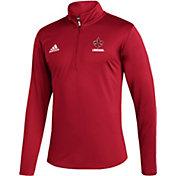 adidas Men's Louisiana-Lafayette Ragin' Cajuns Under Red Quarter-Zip Pullover
