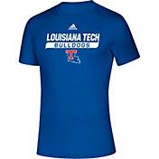 adidas Men's Louisiana Tech Bulldogs Creator Blue T-Shirt