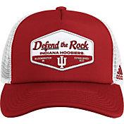 adidas Men's Indiana Hoosiers Crimson Foam Trucker Adjustable Hat