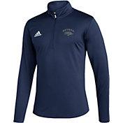 adidas Men's Nevada Wolf Pack Under Navy Quarter-Zip Pullover