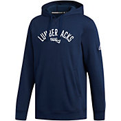 adidas Men's Northern Arizona Lumberjacks Blue Fleece Hoodie