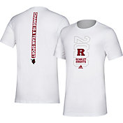adidas Men's Rutgers Scarlet Knights 'Change is a Team Sport' Bench White T-Shirt