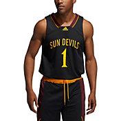adidas Men's Arizona State Sun Devils #1 Retro Replica Basketball Black Jersey