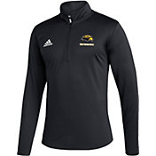 adidas Men's Southern Miss Golden Eagles Under Black Quarter-Zip Pullover