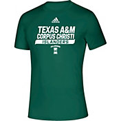 adidas Men's Texas A&M -Corpus Christi Islanders Creator Green T-Shirt