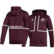 adidas Men's Texas A&M Aggies Maroon Under the Lights Full-Zip Jacket