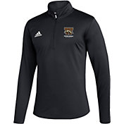 adidas Men's Western Michigan Broncos Under Black Quarter-Zip Pullover