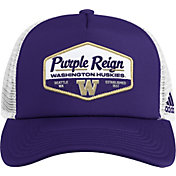 adidas Men's Washington Huskies Purple Foam Trucker Adjustable Hat