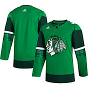 adidas Men's St. Patrick's Day Chicago Blackhawks Authentic Pro Jersey