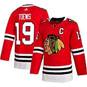 adidas Men's Chicago Blackhawks Jonathan Toews #19 Authentic Pro Home Jersey