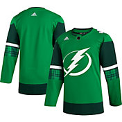 adidas Men's St. Patrick's Day Tampa Bay Lightning Authentic Pro Jersey