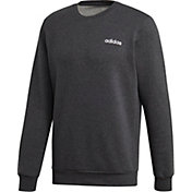 adidas Men's Plain Feel Cozy Fleece Crewneck Sweatshirt