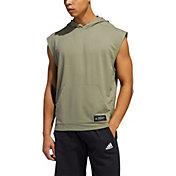 adidas Men's Urban Global Sleeveless Hooded T-Shirt