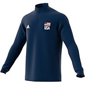 adidas Men's USA Volleyball 1/4 Zip Pullover