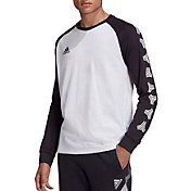 adidas Men's Tango Logo 3/4 Sleeve Baseball Shirt