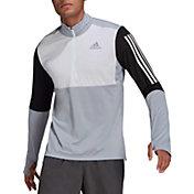 adidas Men's Own The Run 1/2 Zip Long Sleeve T-Shirt