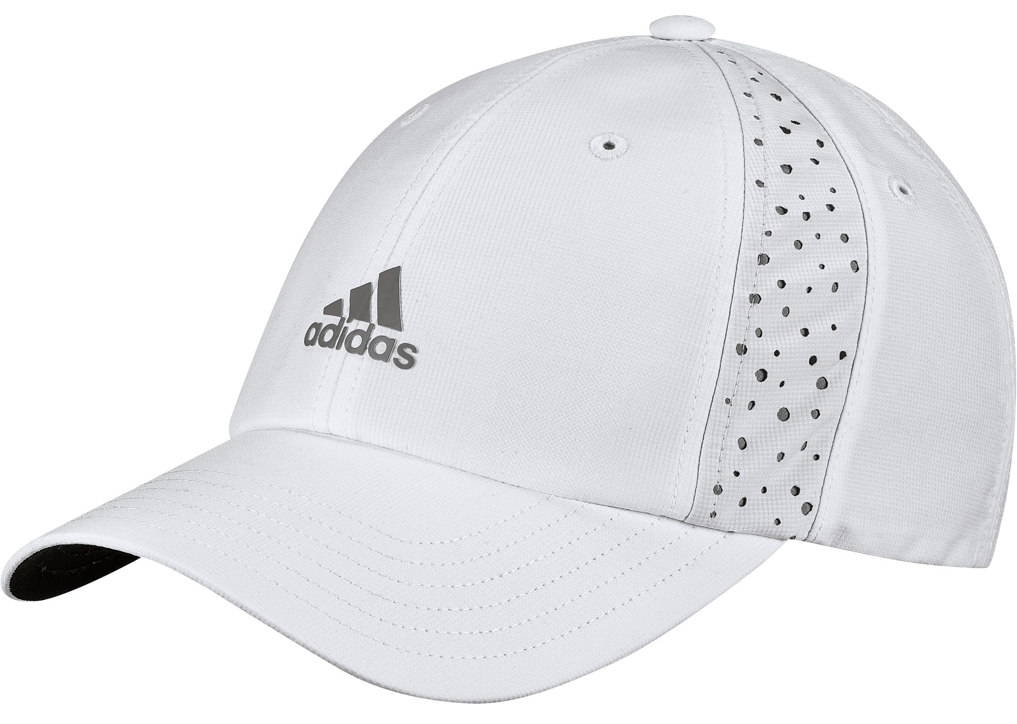 adidas Women's 2020 Performance Perforated Golf Hat, White