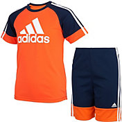adidas Toddler Boys' Urban Sport Short Sleeve T-Shirt and Shorts Set