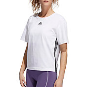 adidas Women's 3-Stripes Cropped T-Shirt