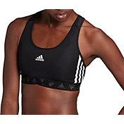 adidas Women's 3-Stripe Mesh Sports Bra