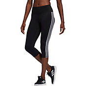 adidas Women's Believe This Three Stripe 3/4 Tights