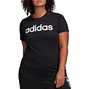 adidas Women's Core Linear Graphic Short Sleeve T-Shirt