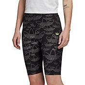 adidas Originals Women's Allover Print Bike Shorts