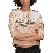 adidas Originals Women's Allover Print Cropped Hoodie