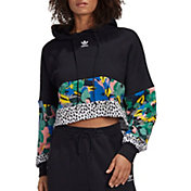 adidas Originals Girls' Her Studio Cropped Hoodie