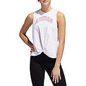 adidas Women's Knotted Graphic Tank Top