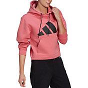 Adidas Women's Logo Doubleknit Hoodie