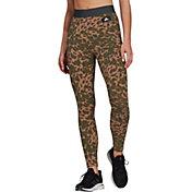 adidas Women's Sportswear Leopard-Print Cotton Leggings