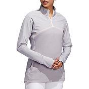 adidas Women's Hybrid Quarter-Zip Golf Jacket