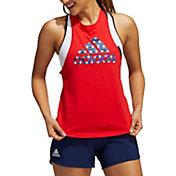 adidas Women's Olympics Stars Graphic Tank Top