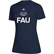 adidas Women's Florida Atlantic Owls Creator Blue T-Shirt