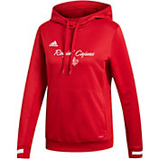 adidas Women's Louisiana-Lafayette Ragin' Cajuns  Red Hoodie