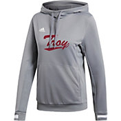 adidas Women's Troy Trojans  Grey Hoodie