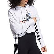 Adidas Women's Nini Sum Crop Hoodie