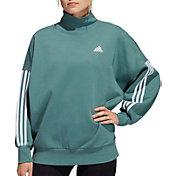 adidas Women's Postgame Mock Neck Sweatshirt