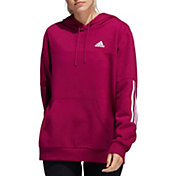 adidas Women's Post Game 3-Stripe Pullover Hoodie