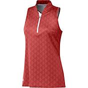adidas Women's HEAT.RDY Racerback Polo Shirt