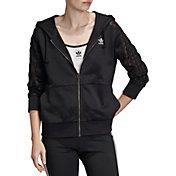 adidas Originals Women's Bellista Lace Full Zip Hoodie