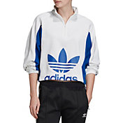 adidas Originals Women's Bellista 1/4 Zip Cropped Pullover