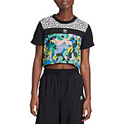 adidas Originals Women's Cropped Printed T-Shirt
