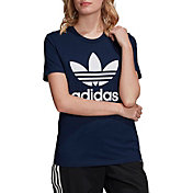 adidas Women's Boyfriend Trefoil T-Shirt (Regular and Plus)
