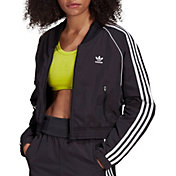 Adidas Women's Short Superstar Track Top