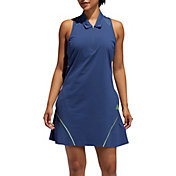 adidas Women's Perforated Color Pop Sleeveless Golf Dress