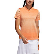 adidas Women's Gradient Short Sleeve Golf Polo